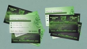 Smoker's Marina Business Card Design