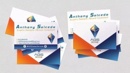 AGS Design Business Card Example