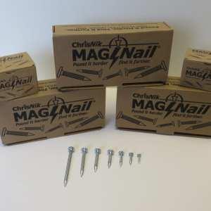 """2 1/2"""" Mag Nails, Box"""