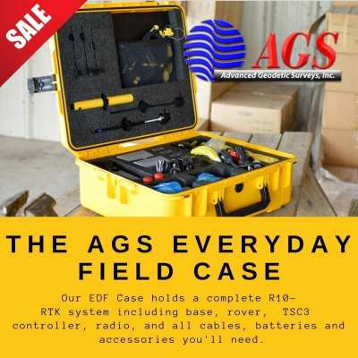 EVERYDAY FIELD CASE | R10 RTK SYSTEM CASE | LAND SURVEYING EQUIPMENT | AGS