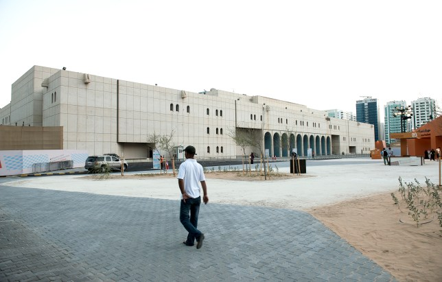 The Cultural Foundation at the time of its partial opening during UAE National Day festivities, 2013. (Yasser Elsheshtawy)