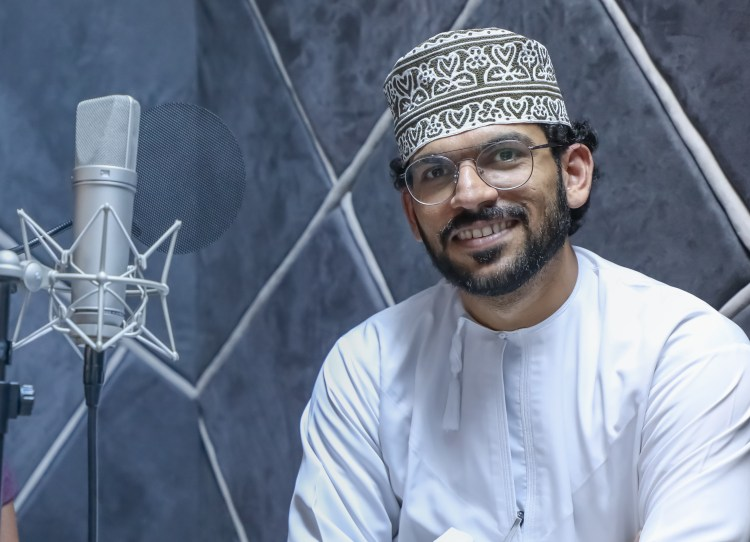 "Omani journalist Turki al-Balushi is the co-founder of the podcast ""al-Sekka"" (Turki al-Balushi)"