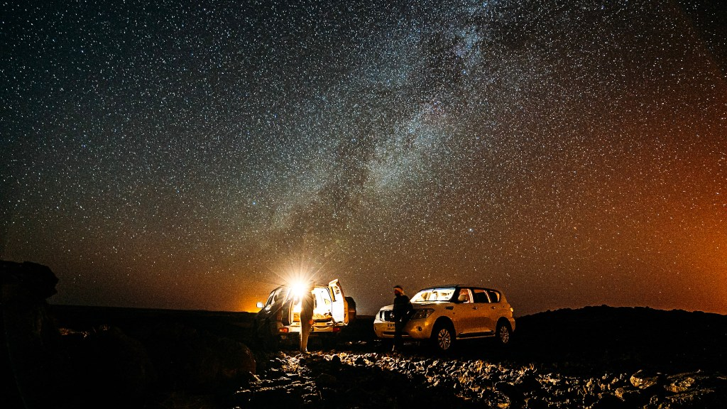 Astrophotography, United Arab Emirates (Photo provided by Obaid AlBudoor)
