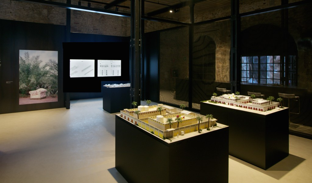 """UAE's national presentation at the Venice Architecture Biennale 2016 """"Transformation of the Emirati National House."""" (Credit: National Pavillion UAE La Biennale Di Venezia, photography by Seeing Things)"""