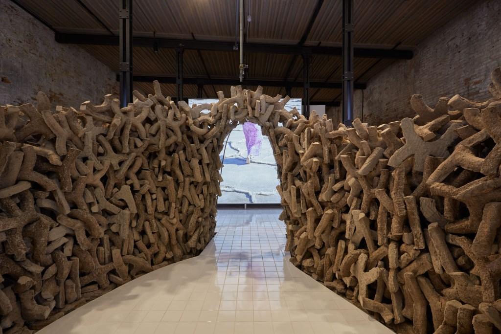 """Wetland,"" the UAE's national presentation at the Venice Architecture Biennale 2021 (Credit: National Pavillion UAE La Biennale Di Venezia, photography by Frederico Torra)"