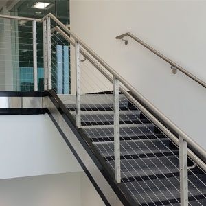 Top 6 Types Of Stainless Steel Railing Systems Agsstainless Com   Stainless Steel Banister Rail   Ags Stainless   Satin Stainless   Metal Fabrication   Railing Designs   Cable Railing Kits