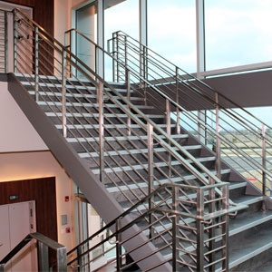 Top 6 Types Of Stainless Steel Railing Systems Agsstainless Com   Stainless Steel Stair Railing   Price   Wall   Outdoor   Vertical   Golden