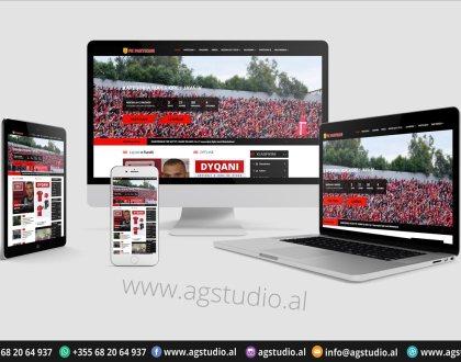 PARTIZANI.AL   Responsive website