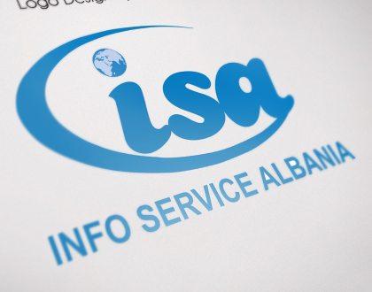 LOGO INFO SERVICE ALBANIA