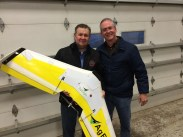 Chad Colby; Bret Chilcott (owner of AgEagle)