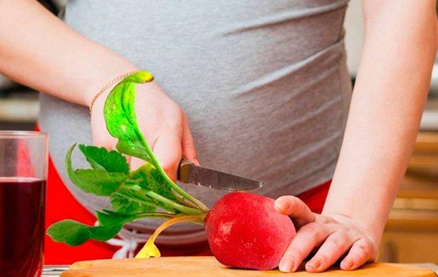 Редис для беременных можно или нет. Можно ли беременным есть редиску