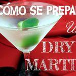 Como se prepara dry-martini