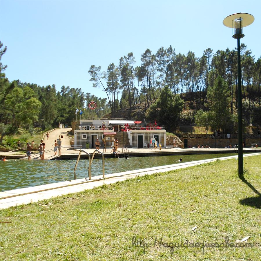 mação praia fluvial do carvoeiro bandeira azul centro de portugal vila de rei