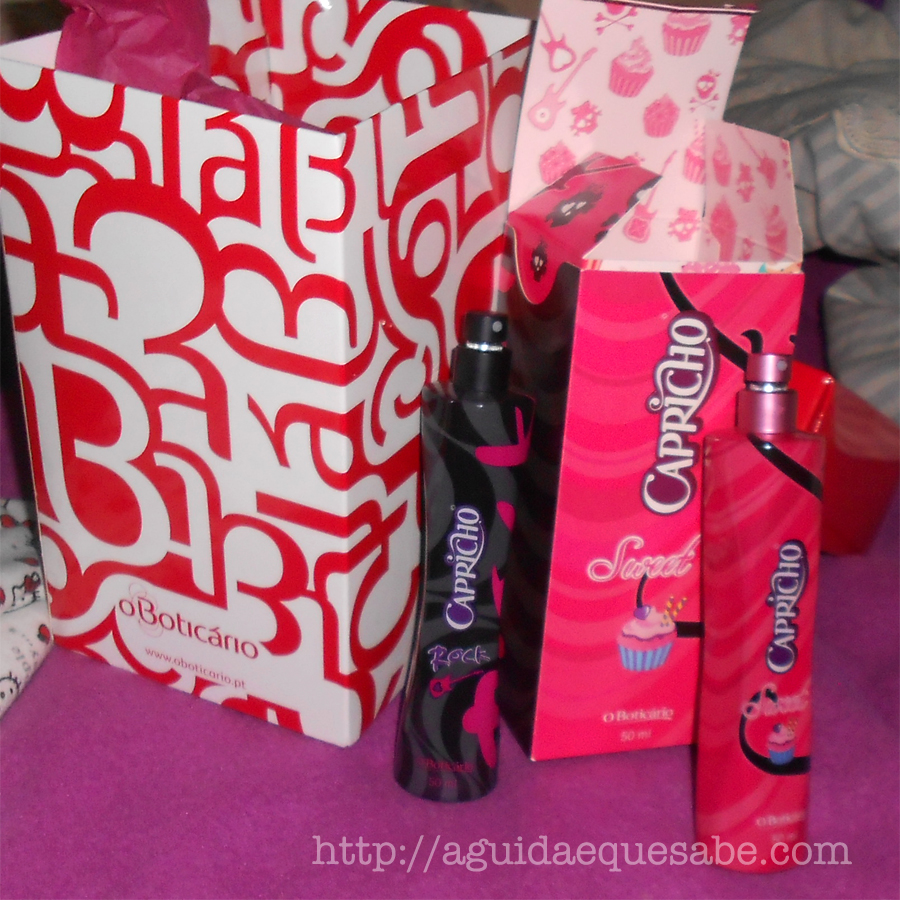 boticário natal perfume capricho sweet rock edt fragrância