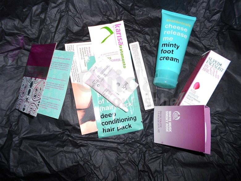 beauty bag box secret subscrição review resenha swatch maquilhagem