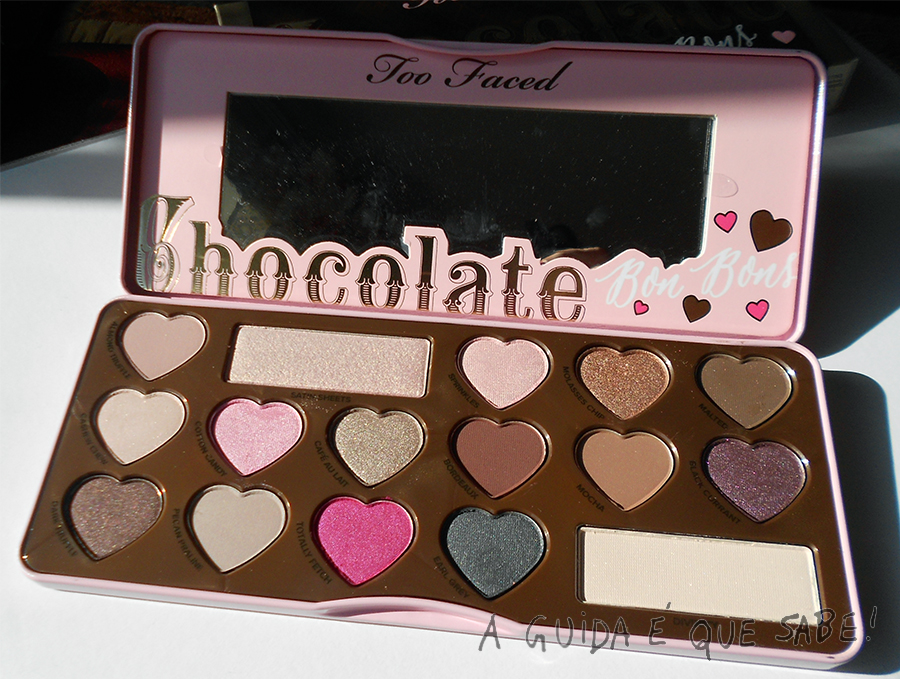 Chocolate Bon Bons Too Faced paleta review swatch maquilhagem makeup maquiagem opinião