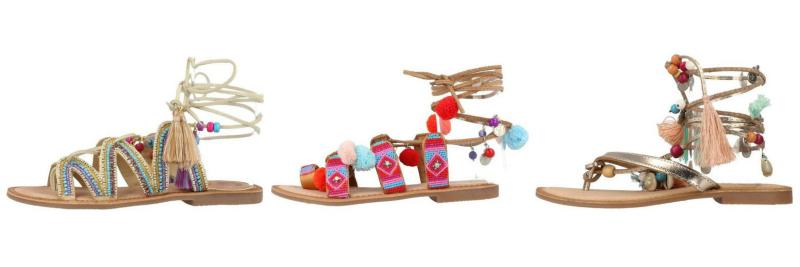 sandálias pom pom pompons tendência verão trends fashion moda