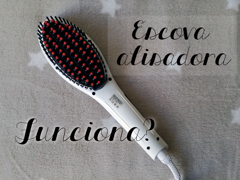 escova alisadora magic liss funciona
