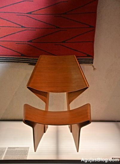 Sløjfestolen, the Bow Chair, 1963, designed by Grete Jalk.