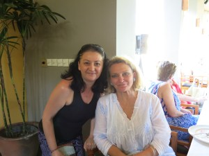 Me and Robyn Davidson