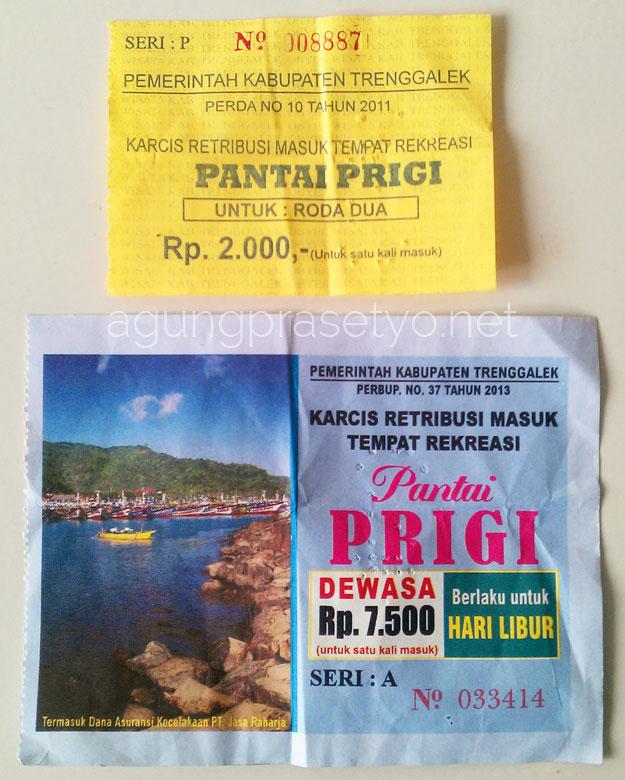 Tiket Masuk Wisata Pantai Prigi