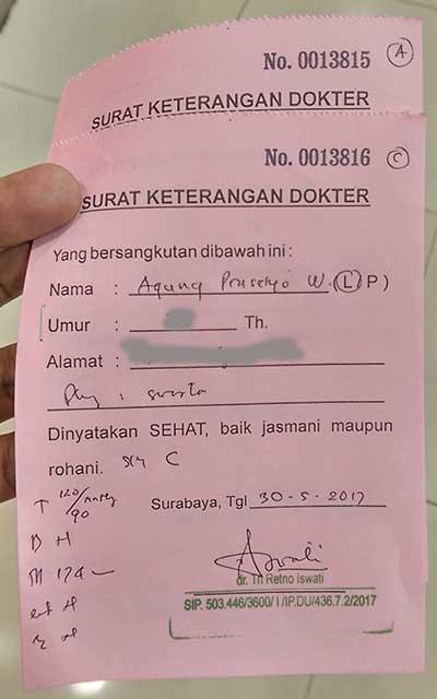 Surat Dokter Bogor Backgroundmenuhargacom