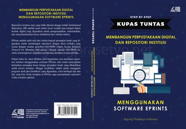 Cover Buku Membangun Perpustakaan Digital dan Repositori Institusi Menggunakan Software EPrints