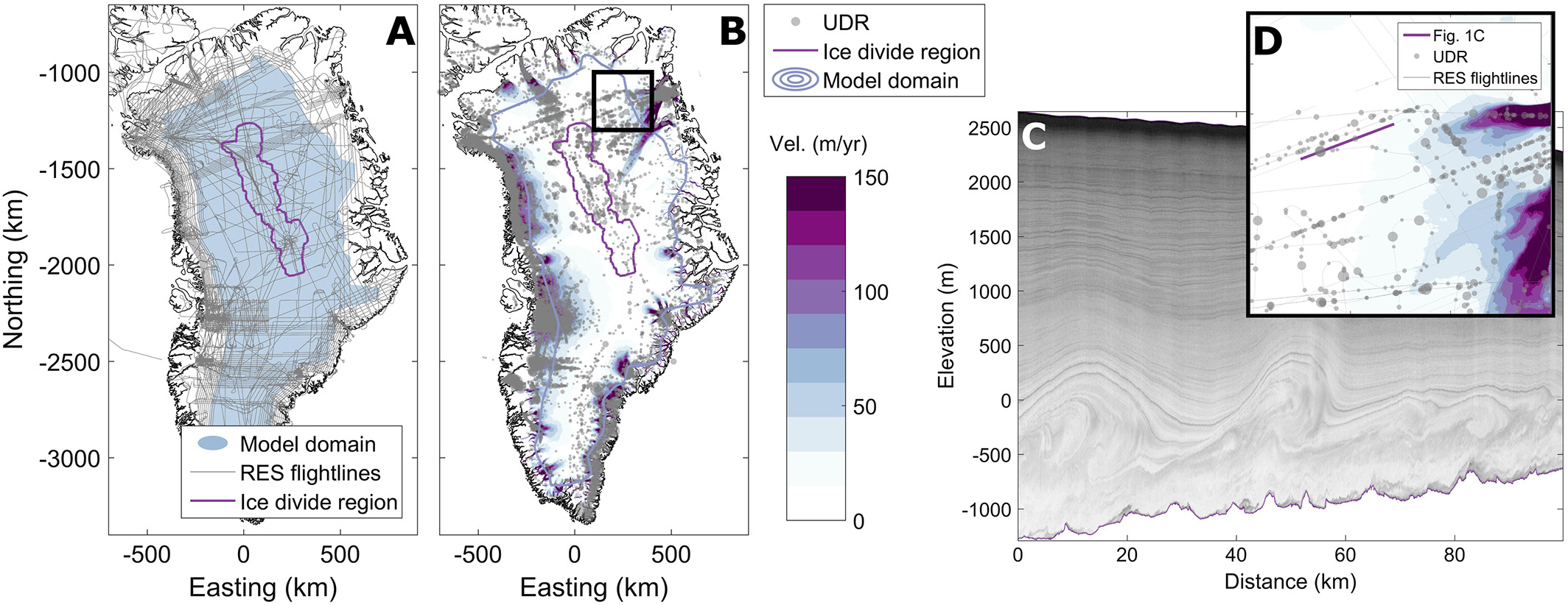 on for greenland ice sheet stratigraphy