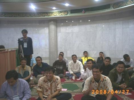 Peserta Seminar Peranan Internet Dalam Dakwah