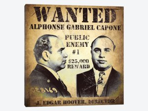 Al Capone - wanted