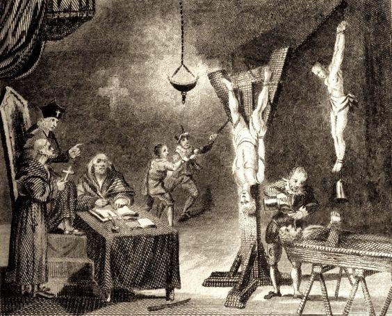 Sesión de tortura, La Santa Inquisición