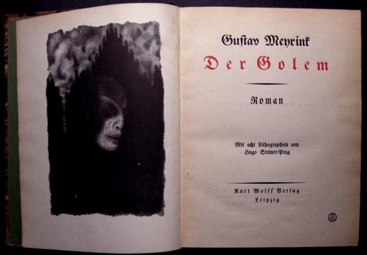 El Golem, de Gustav Meyrink
