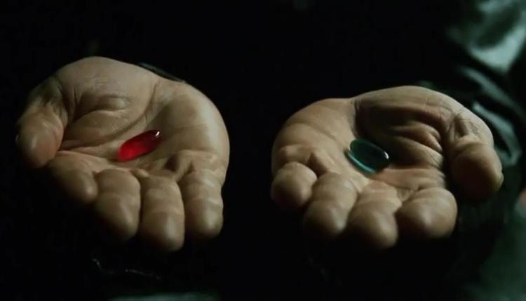 Rebabas IV - Fotograma de la película Matrix