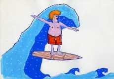 SURF WOODEN FLIGHT 01