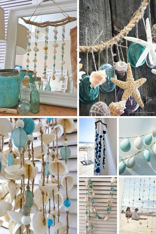 decorar con conchas