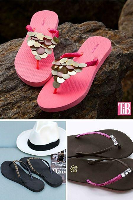 DIY sandalias