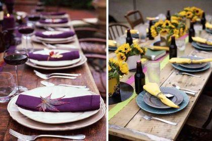 Las 5 claves del estilo campestre para decorar mesas