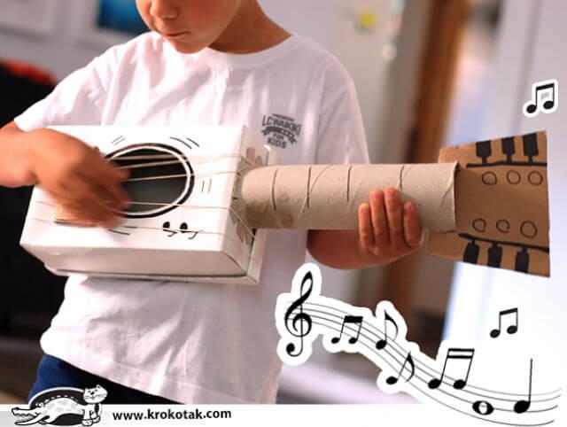 9 instrumentos musicales caseros y que suenan para ni os for Instrumentos de cocina