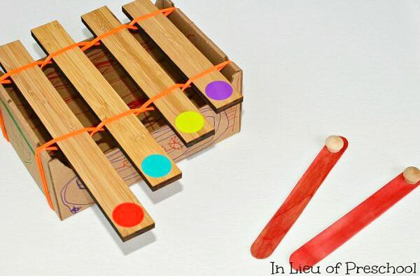 10 instrumentos musicales caseros