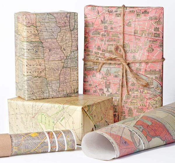 regalar libros de mapas