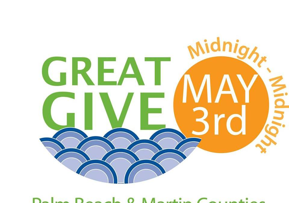 Give at #GreatGive16 Events around Downtown on May 3rd