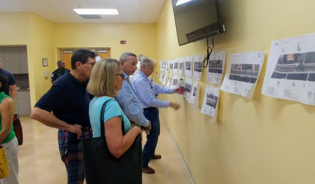 Third meeting was with Connect WPB where close ups of the plans were discussed