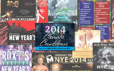Updated! Your list of New Year's Parties in Downtown West Palm!