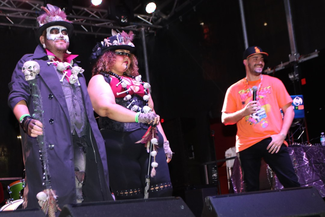 Halloweeners at Moonfest 2019 Costume Contest (photo by: Mike Jalches)