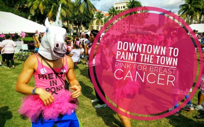 Downtown West Palm Beach to Paint the Town Pink for Breast Cancer
