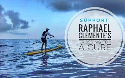 Join me in supporting Raphael Clemente as he Crosses for a Cure