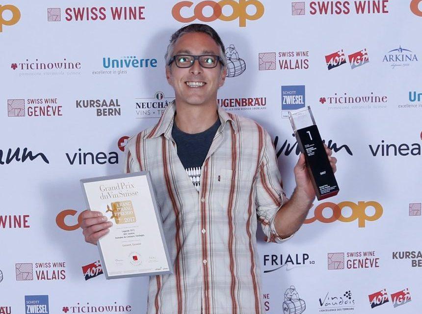 Bravo à nos membres lauréats au grand prix du vin Suisse 2017