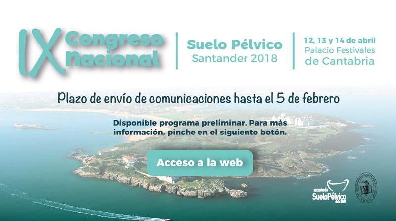 Web Congreso Nacional de Suelo Pélvico