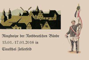 Ringkneipe der norddeutschen Bünde beim VDSt Clausthal