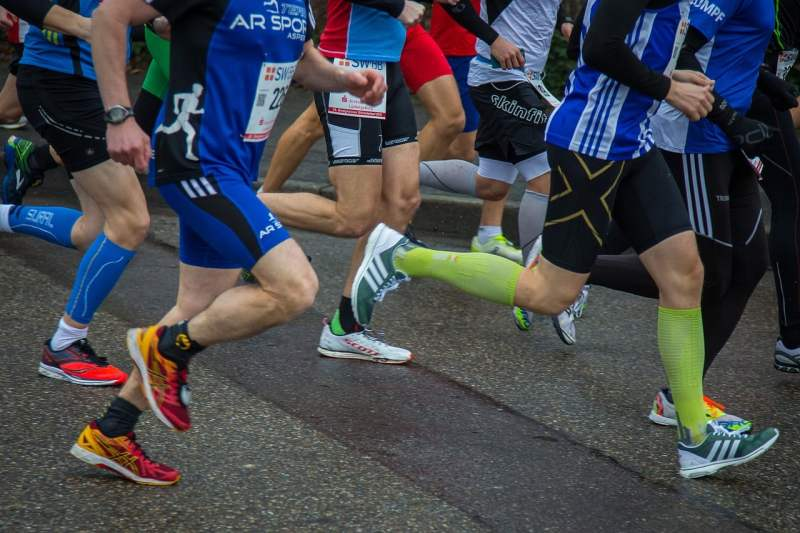 competition, running, sport